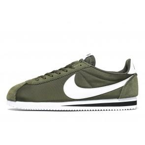 Nike Classic Cortez Homme Vert Chaussures de Fitness