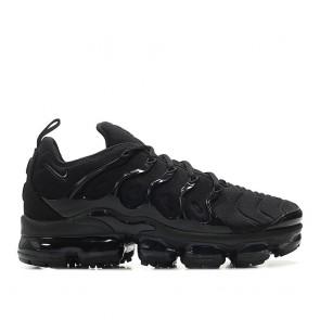 Nike Air Vapormax Plus TN Homme 924453-004 Noir/Noir-Foncé Gris Chaussures de Fitness