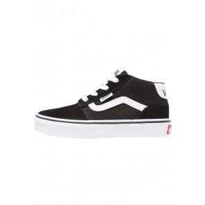Vans Chapman - Chaussure de Running Haute/High - Noir/Blanc - Enfant