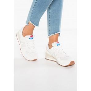 New Balance WL574 - Chaussures de Sport Basse/Faible - Blanc Pur/Blanc/Crème - Femme