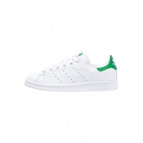 Adidas Originals Stan Smith - Chaussures de Sport Basse/Faible - Blanc/Vert - Femme/Homme