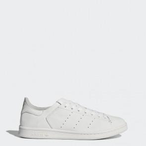 Fashion chaussures de ville Adidas Stan Smith Leather Sock pour femme - Blanc pur