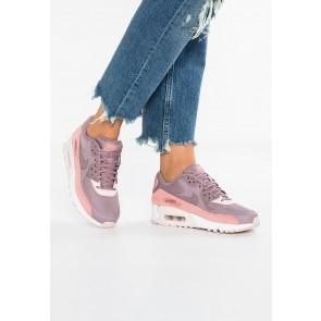Nike Footwear Air Max 90 - Chaussures de Sport Basse/Faible - Rouge Poussière D'étoile/Gris Taupe/Gris Boue/Blanc - Femme