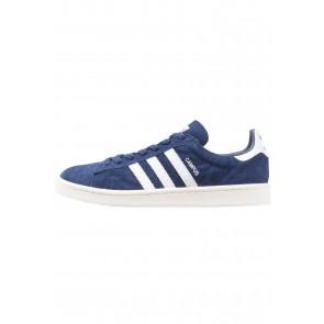 Adidas Originals Campus - Chaussures de Sport Basse/Faible - Bleu Foncé/Blanc/Blanc de Craie - Femme/Homme