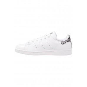 Adidas Originals Stan Smith - Chaussures de Sport Basse/Faible - Blanc/Noir Noyau - Femme