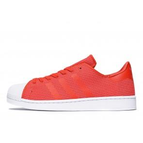 Adidas Originals Superstar Knit Homme Rouge Chaussures de Fitness