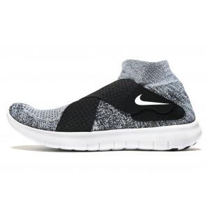 Nike Free Run Motion Flyknit 2 Homme Noir Chaussures de Fitness