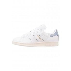 Adidas Originals Stan Smith - Chaussures de Sport Basse/Faible - Blanc/Bleu Tactile - Femme/Homme