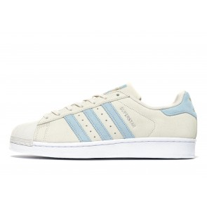 Adidas Originals Superstar Suede Homme Blanc Chaussures de Fitness