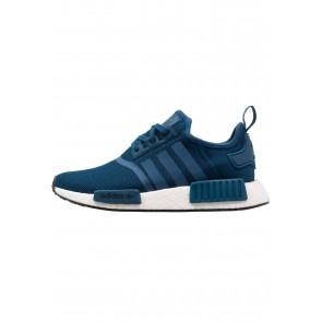 Adidas Originals NMD_R1 - Chaussures de Sport Basse/Faible - Bleu Nuit/Noir Noyau - Femme/Homme