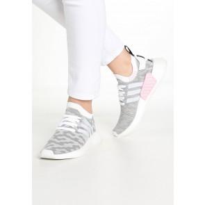 Adidas Originals NMD_R2 PK - Chaussures de Sport Basse/Faible - Blanc/Noir Noyau - Femme