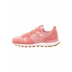 Nike Footwear Internationalist - Chaussures de Sport Basse/Faible - Rouge Poussière D'étoile/Brun Moyen - Femme