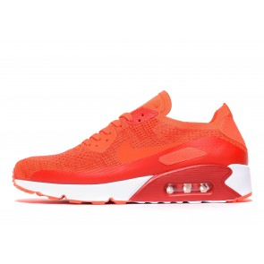 Nike Air Max 90 Ultra 2.0 Flyknit Homme Rose Chaussures de Fitness