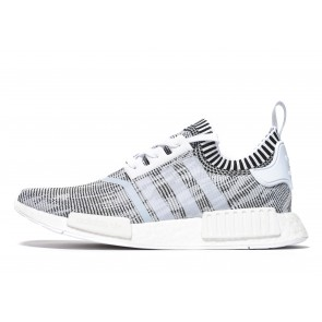Adidas Originals NMD R_1 Primeknit Homme Blanc Chaussures de Fitness