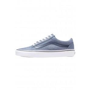 86e0d2a1cc Vans Old Skool - Chaussures de Sport Basse Faible - Bleu - Femme Homme
