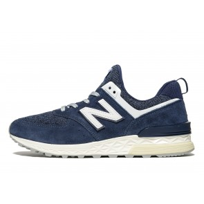 New Balance 574 Sport Homme Bleu Chaussures de Fitness