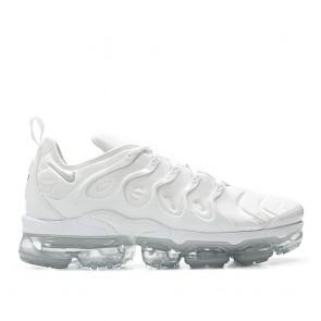 Chaussure de running Nike Air Vapormax Plus TN Homme 924453-100 Blanc/Blanc-Pur Platine