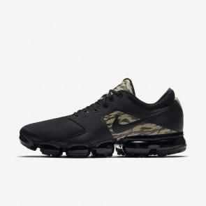 Nike Air VaporMax Homme AQ8627-001 Noir/Kaki/Marron velours/Noir Chaussures de Fitness