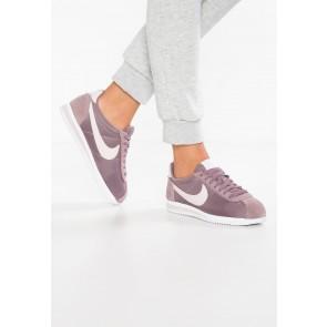 Nike Footwear Classic Cortez Nylon - Chaussures de Sport Basse/Faible - Gris Taupe/Gris Boue/Blanc - Femme