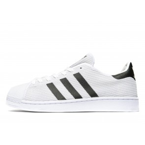Adidas Originals Superstar Knit Homme Blanc Chaussures de Fitness