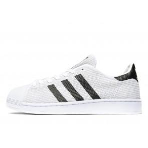 Adidas Originals Superstar Knit Homme Blanc Chaussures de Fitness