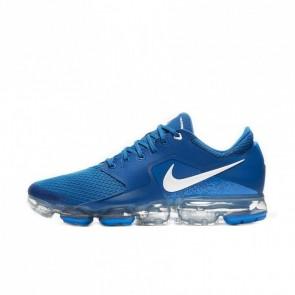 Homme Nike Air VaporMax Plus Chaussures de Sport Militaire Bleu/Métallique Argent/Photo Bleu/Voile AH9046-402