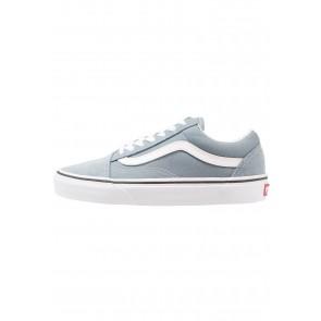 Vans Old Skool - Chaussures de Sport Basse/Faible - Bleu/Blanc Sommet - Femme/Homme