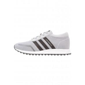 Adidas Originals Los Angeles - Chaussures de Sport Basse/Faible - Gris Moyen/Noir Noyau/Blanc - Femme/Homme