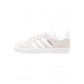 Adidas Originals Gazelle - Chaussures de Sport Basse/Faible - Beige/Jaune Sable - Femme
