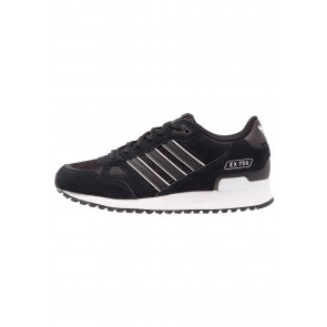 Adidas Originals ZX 750 - Chaussures de Sport Basse/Faible - Noir Noyau/Blanc - Femme/Homme