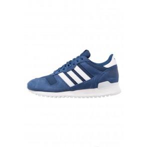 Adidas Originals ZX 700 - Chaussures de Sport Basse/Faible - Bleu Mystérieux/Blanc - Femme/Homme