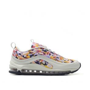 Nike Air Max 97 Ultra '17 Premium Chaussures De Fitness AO2325-003 Multi/Lumière Gris/Blanc Femme