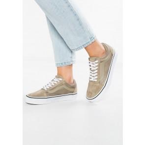 c017873055 Vans Old Skool - Chaussures de Sport Basse Faible - Kaki - Femme