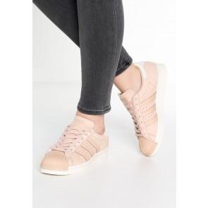 Adidas Originals Superstar 80S - Chaussures de Sport Basse/Faible - Gris Poussière/Blanc Vapor - Femme
