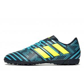 Adidas Ocean Storm Nemeziz 17.4 Turf Homme Bleu Chaussures de Fitness