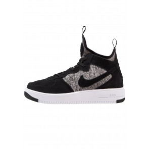 Nike Footwear Air Force 1 Ultraforce MID PRM - Chaussure de Running Haute/High - Noir/White - Homme