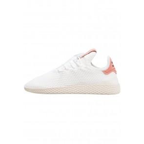 Adidas Originals PW Tennis HU - Chaussures de Sport Basse/Faible - Blanc/Rose - Femme/Homme