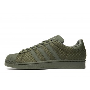 Adidas Originals Superstar Quilt Homme Vert Chaussures de Fitness