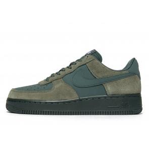 Nike Air Force 1 Homme Vert Chaussures de Fitness