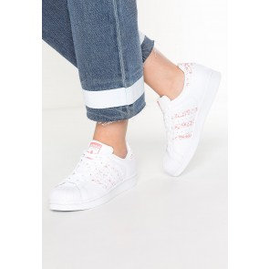 Adidas Originals Superstar - Chaussures de Sport Basse/Faible - Blanc/Rose Tactile - Femme