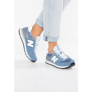 New Balance WL574 - Chaussures de Sport Basse/Faible - Bleu - Femme