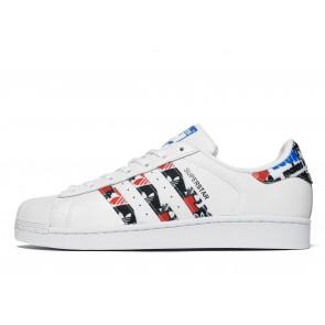 Adidas Originals Superstar Homme Blanc Chaussures de Fitness