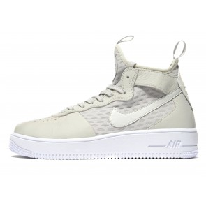 Nike Air Force 1 Ultraforce Mid Homme Gris Chaussures de Fitness