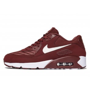 Nike Air Max 90 Ultra Essential Homme Rouge Chaussures de Fitness