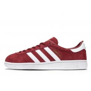 Adidas Originals Munchen Homme Rouge Chaussures de Fitness
