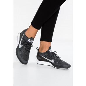 Nike Footwear Air Zoom Mariah FK Racer PRM - Chaussures de Sport Basse/Faible - Noir/Blanc/Vert Foncé - Femme