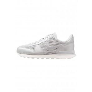 Nike Footwear Internationalist Premium - Chaussures de Sport Basse/Faible - Argent/Platine Métallique/Platine Pur - Femme