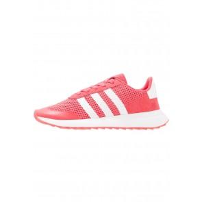 Adidas Originals Flashback - Chaussures de Sport Basse/Faible - Rose Noyau/Blanc - Femme