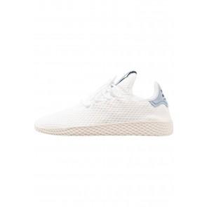 Adidas Originals PW Tennis HU - Chaussures de Sport Basse/Faible - Blanc/Bleu Tactile - Femme/Homme