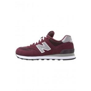 New Balance M574 - Chaussures de Sport Basse/Faible - Bourgogne - Femme/Homme